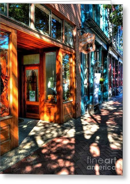 Western Kentucky Greeting Cards - Morning In Paducah Greeting Card by Mel Steinhauer