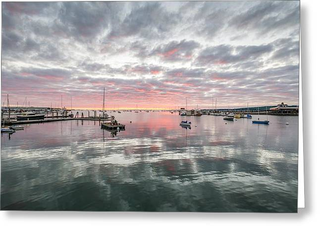 Morning In Rockland Harbor Greeting Card by Tim Sullivan