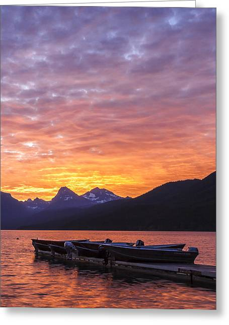Boats In Water Greeting Cards - Morning Light II Greeting Card by Jon Glaser
