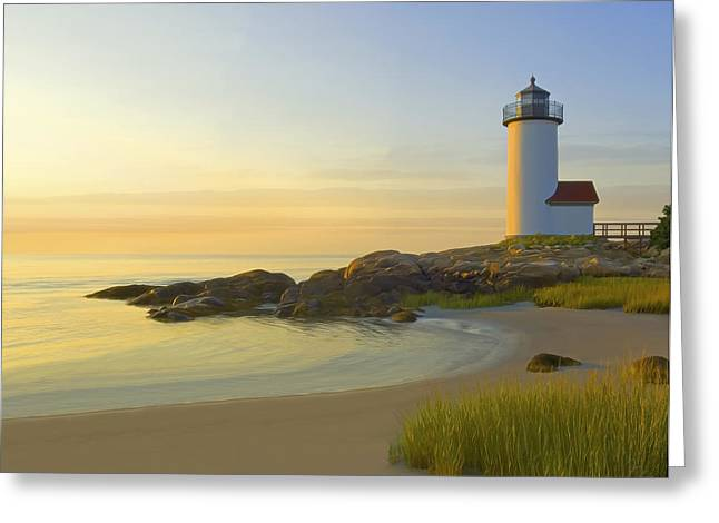 20 X 16 Greeting Cards - Morning Light Greeting Card by James Charles