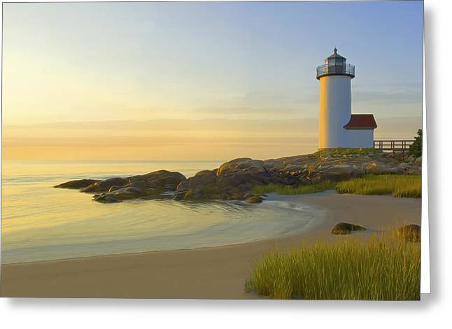 Morning Light Greeting Card by James Charles