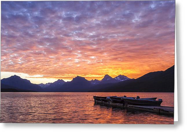 Colorful Sunset Greeting Cards Greeting Cards - Morning Light Greeting Card by Jon Glaser