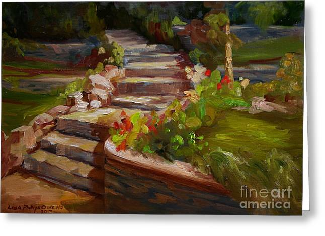 Morning Light Greeting Card by Lisa Phillips Owens