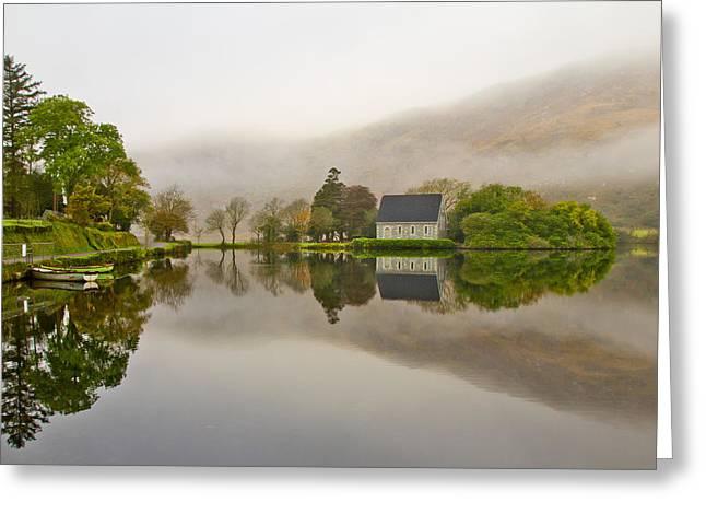 Morning Mirror Greeting Card by Jan Stria