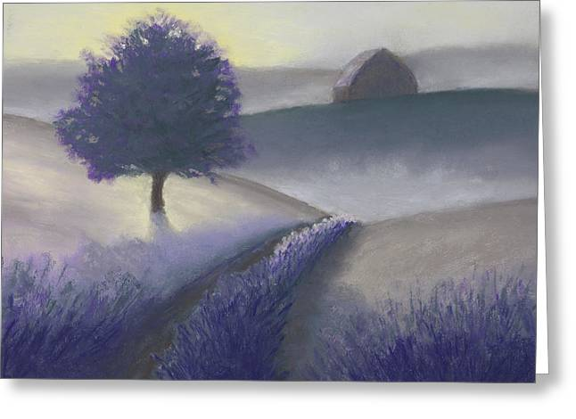 Fog Pastels Greeting Cards - Morning Mist Greeting Card by Garry McMichael