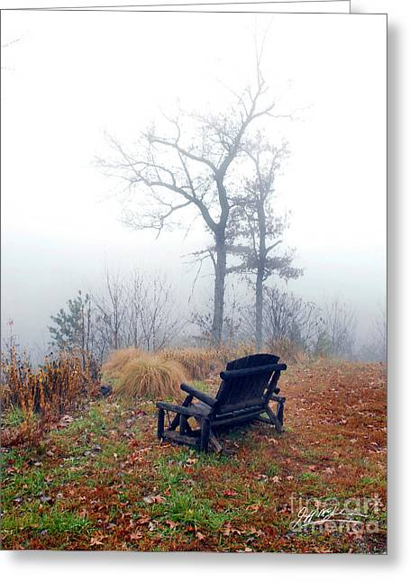 Jeff Mcjunkin Greeting Cards - Morning Mist III Greeting Card by Jeff McJunkin