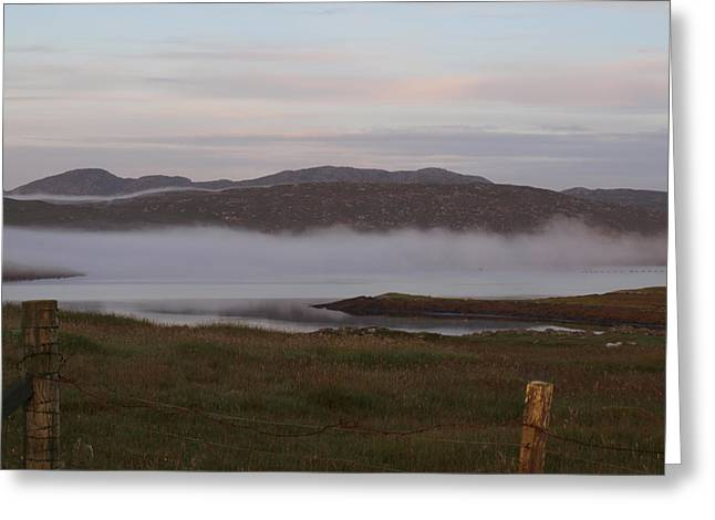 Monolith Greeting Cards - Morning Mist Greeting Card by Michaela Perryman