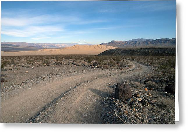 Sanddunes Greeting Cards - Morning on Steele Pass Greeting Card by Joe Schofield