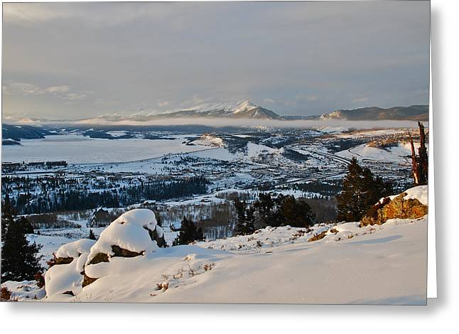 Bob Berwyn Greeting Cards - Morning pano Greeting Card by Bob Berwyn