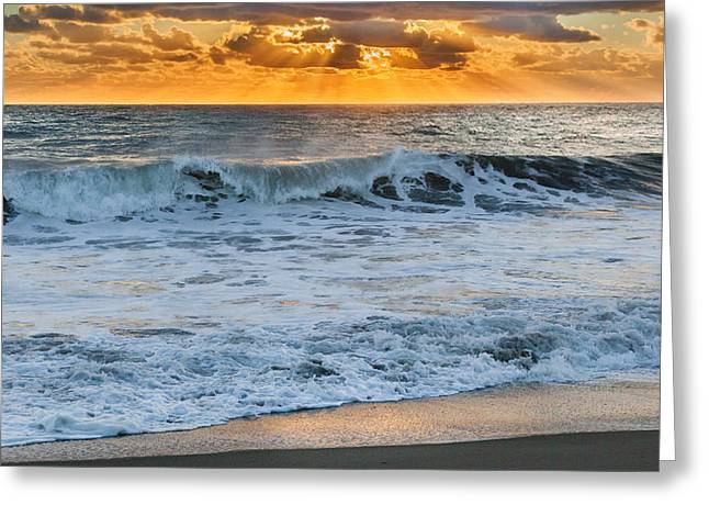 Light Rays Greeting Cards - Morning Rays Greeting Card by Bill  Wakeley