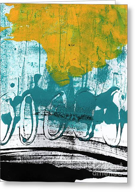 Tire Greeting Cards - Morning Ride Greeting Card by Linda Woods