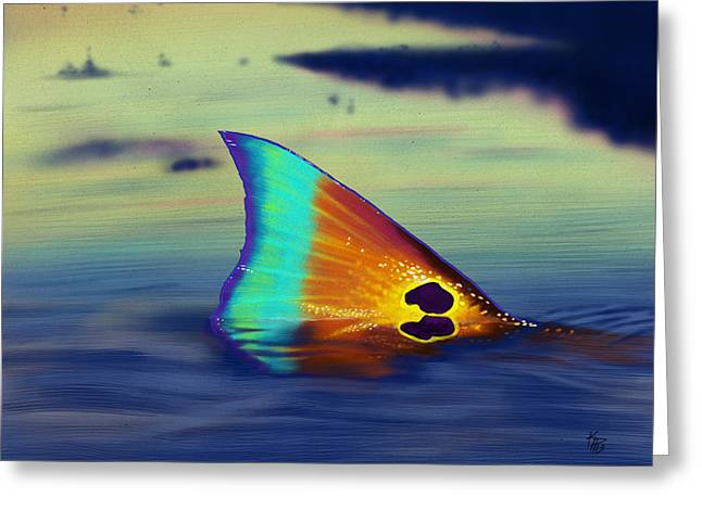 Redfish Greeting Cards - Morning Stroll Greeting Card by Kevin Putman