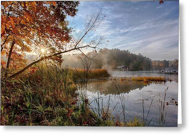 Morning Sun Greeting Card by Daniel Behm
