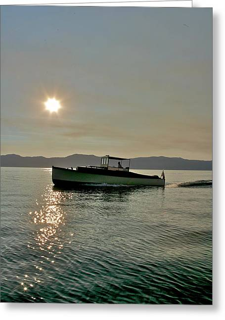 Tp52 Greeting Cards - Morning Sun Greeting Card by Steven Lapkin
