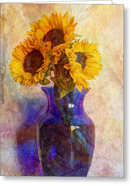 Old Pitcher Greeting Cards - Morning Sunshine Greeting Card by Heidi Smith