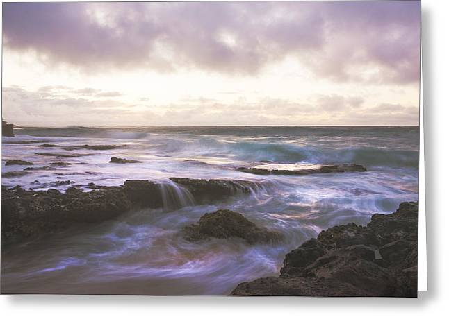 Brianharig Greeting Cards - Morning Waves Greeting Card by Brian Harig