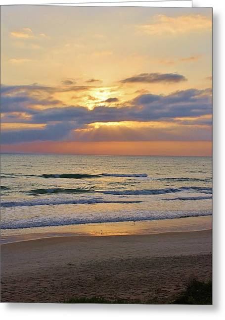 Mornings Early Light Greeting Card by Bruce Bley