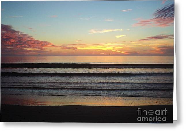 St. Lucie County Greeting Cards - Morningtide Greeting Card by Megan Dirsa-DuBois