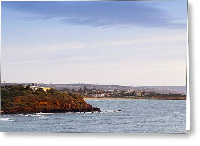 Ocean Landscape Greeting Cards - Mornington Peninsula Greeting Card by Tim Hester