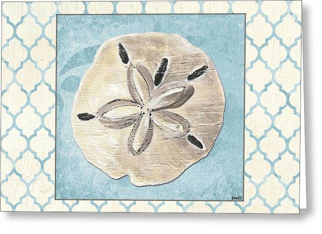 Shell Pattern Greeting Cards - Moroccan Spa 2 Greeting Card by Debbie DeWitt