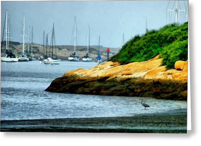 Morro Bay Greeting Cards - Morro Bay Greeting Card by Ernie Echols