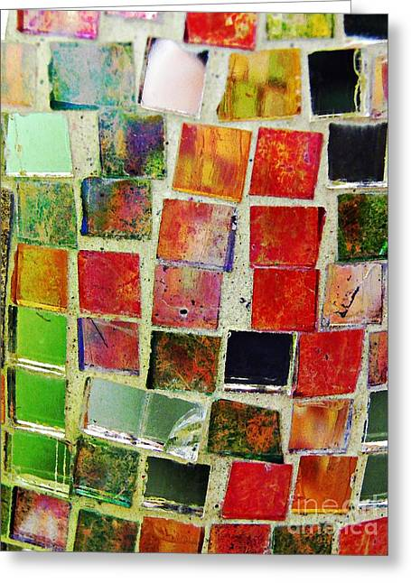 Sarah Loft Greeting Cards - Mosaic 17 Greeting Card by Sarah Loft