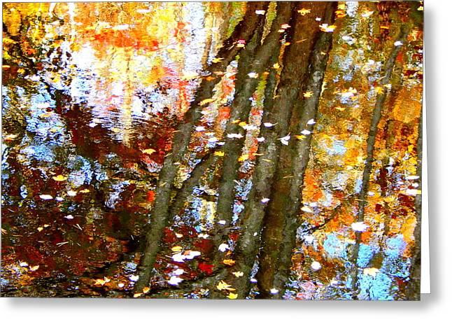 Mosaic Greeting Card by Karen Cook