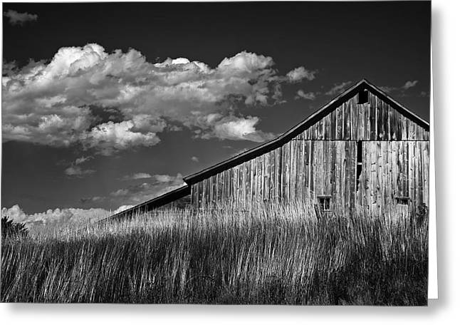Idaho Scenery Greeting Cards - Moscow Barn Greeting Card by Latah Trail Foundation