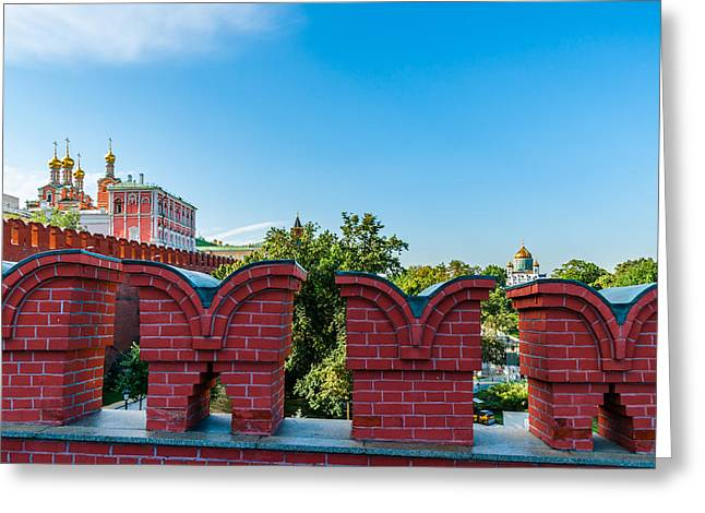 Palace Amusements Greeting Cards - Moscow Kremlin Tour - 06 of 70 Greeting Card by Alexander Senin
