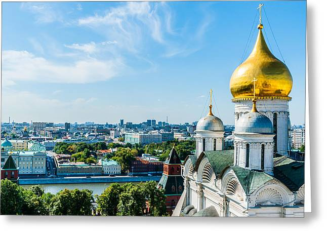 Archangel Greeting Cards - Moscow Kremlin Tour - 33 of 70 Greeting Card by Alexander Senin