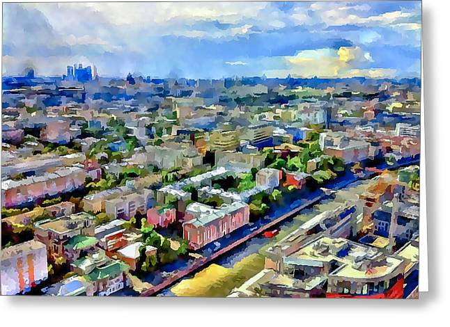 Moscow Digital Greeting Cards - Moscow Scape 3 Greeting Card by Yury Malkov