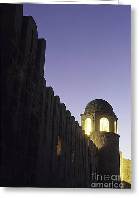 African Heritage Greeting Cards - Mosque in Sousse Tunisia Greeting Card by Ryan Fox