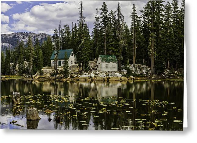 Ebbetts Pass Greeting Cards - Mosquito Lake Greeting Card by Mitch Shindelbower