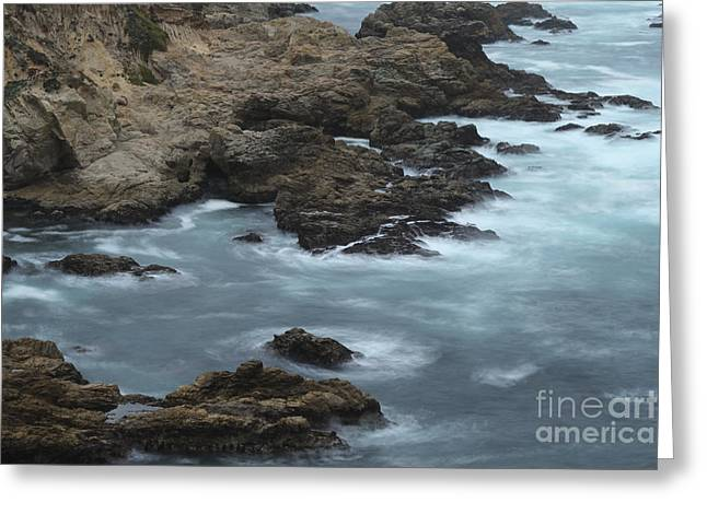 Big Sur Beach Greeting Cards - Moss Cove California II Greeting Card by Jennifer Ramirez