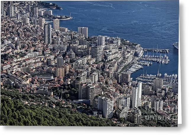 Monte Vista Greeting Cards - Mote Carlo Monaco Greeting Card by John Greim