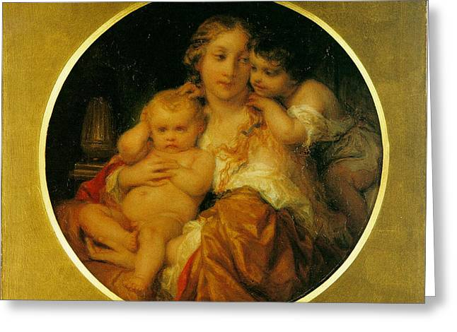 Child Jesus Greeting Cards - Mother and Child Greeting Card by Paul  Delaroche