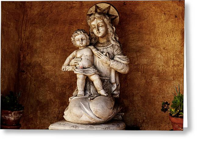 Holy Week Greeting Cards - Mother and Child Reunion Greeting Card by Scott Hill