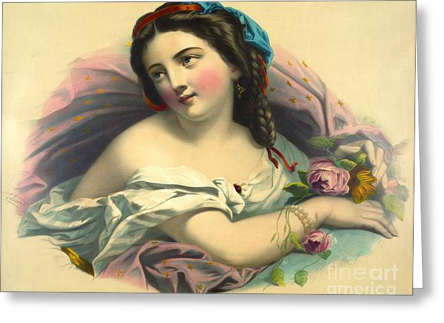 Mother Earth 1850 Greeting Card by Padre Art