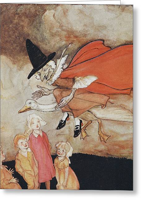 Mother Goose Greeting Card by British Library