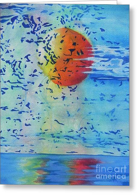 Seacape Greeting Cards - Mother Nature At Her Best  Greeting Card by Chrisann Ellis