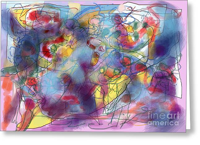 Inner Self Greeting Cards - Mother of Children 4 Greeting Card by David Baruch Wolk