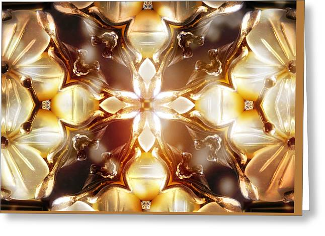 Ohio ist Digital Greeting Cards - Mother of Pearl Greeting Card by Shawna  Rowe