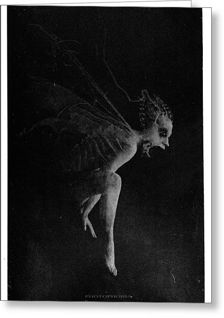 Seraphim Angel Greeting Cards - Mother of Shadows  Greeting Card by Victor Slepushkin