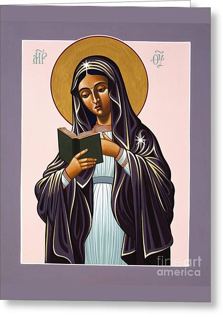 Mother Of The Incarnate Word 071 Greeting Card by William Hart McNichols