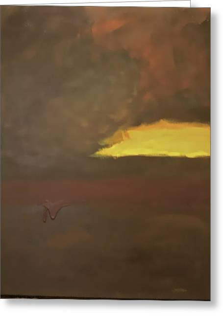 Storm Prints Paintings Greeting Cards - Mother Storm Greeting Card by Jim Ellis