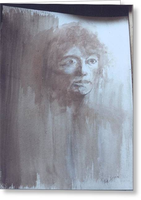 Les Pastels Greeting Cards - Mother Greeting Card by Thomas Armstrong
