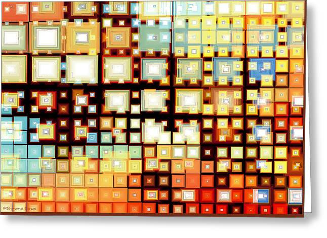 Technical Digital Art Greeting Cards - Motherboard Greeting Card by Shawna  Rowe