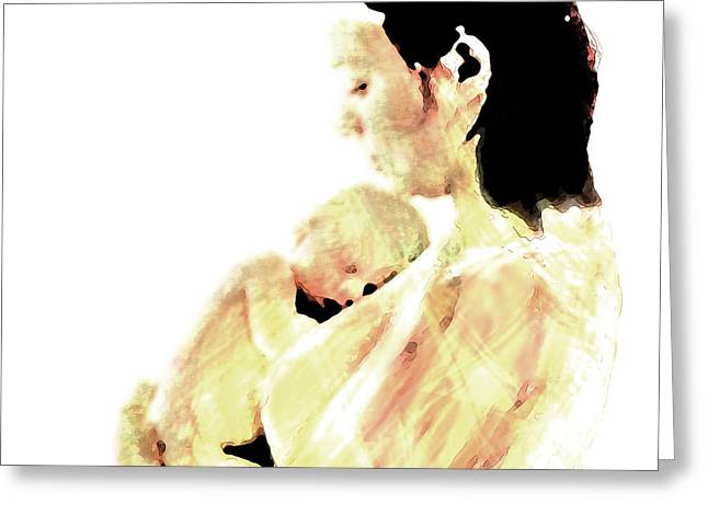 Motherhood Greeting Card by Coconut Lime Design