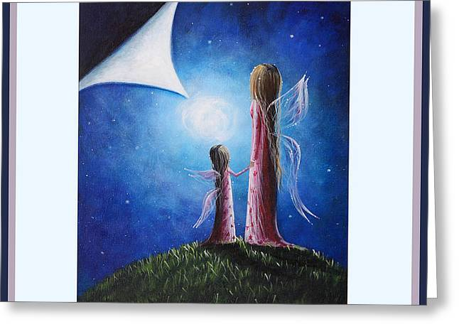 Mother's Are Gifts From Above by Shawna Erback Greeting Card by Shawna Erback