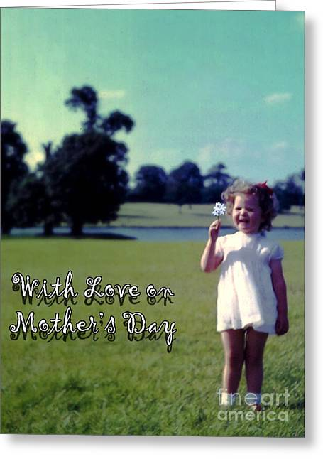 Terri Waters Greeting Cards - Mothers Day 1964 Greeting Card by Terri  Waters